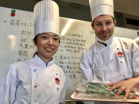 山手調理師専門学校でハラール&ヴィーガンの調理実習を行いました