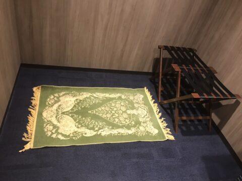 東京ポートシティ竹芝に祈禱室(礼拝室 )があります